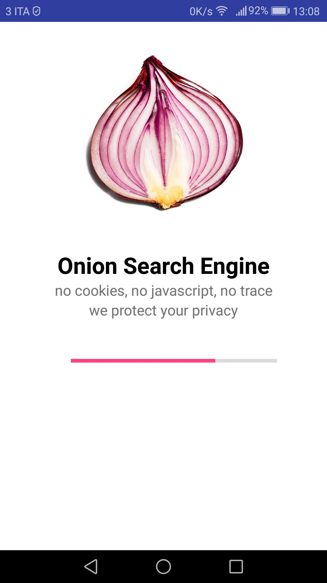 Onion Search Engine screenshot 1